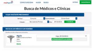 medAgora - Agende consultas médicas online